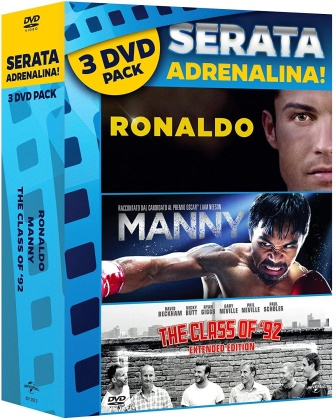 Ronaldo / Manny / Class Of 82 - Triple Pack (3 DVD)