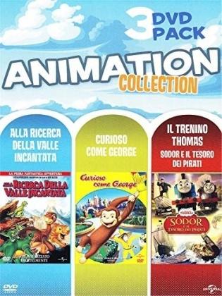 Alla ricerca della Valle Incantata - Curioso Come George - Sodor e il Tesoro dei Pirati - Triple Pack (3 DVDs)