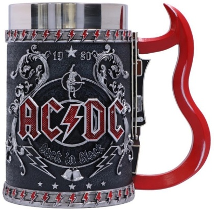 AC/DC: Back In Black - Tankard 16cm