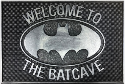 Batman: Welcome to the Batcave - Rubber Doormat