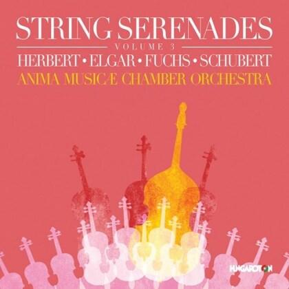 Anima Musicæ Chamber Orchestra, Victor August Herbert, Sir Edward Elgar (1857-1934), Robert Fuchs (1847-1927) & Franz Schubert (1797-1828) - String Serenades 3