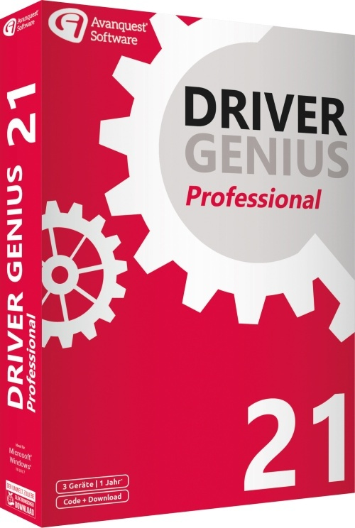 Driver Genius 21 Professional (Code in a Box)