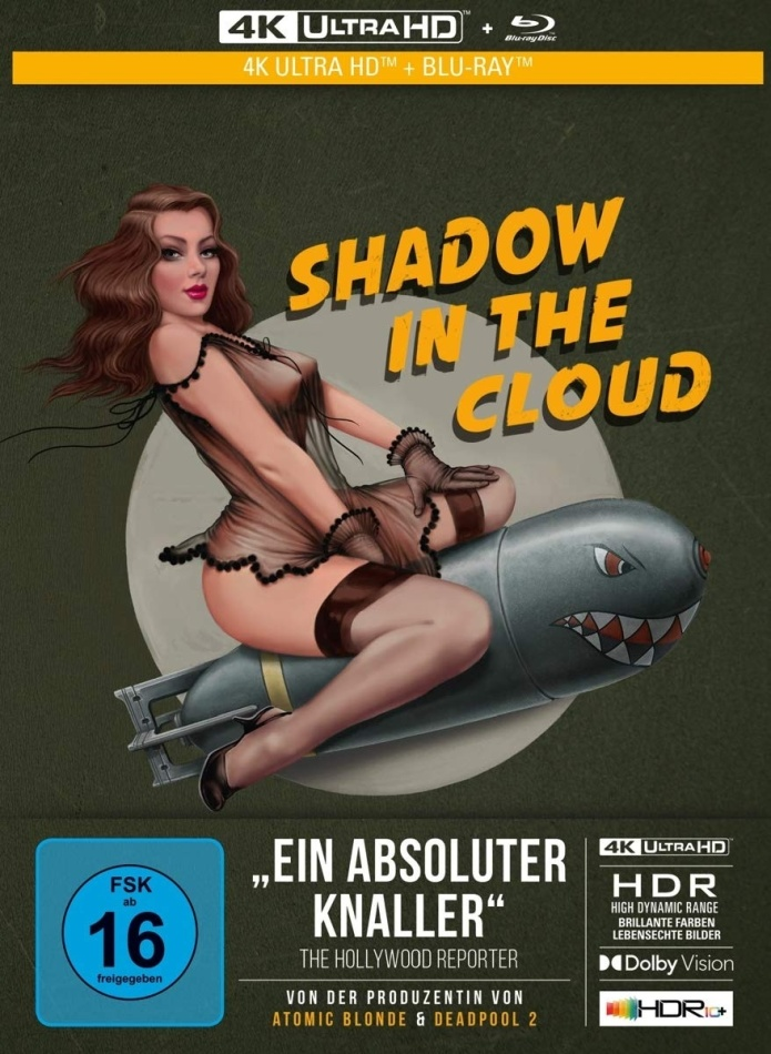 Shadow in the Cloud (2020) (Édition Collector Limitée, Mediabook, 4K Ultra HD + Blu-ray)