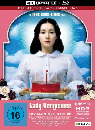 Lady Vengeance (2005) (Limited Collector's Edition, Mediabook, 4K Ultra HD + 2 Blu-rays)