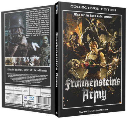 Frankenstein's Army (2013) (Grosse Hartbox, Limited Collector's Edition)