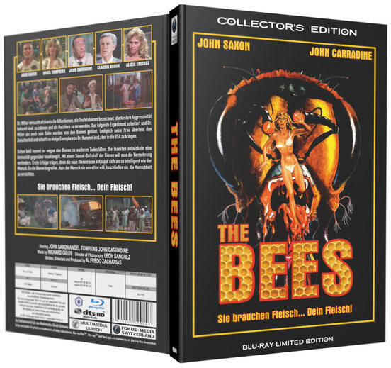 The Bees (1978) (Grosse Hartbox, Limited Collector's Edition)