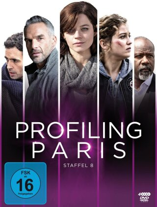 Profiling Paris - Staffel 8 (4 DVDs)