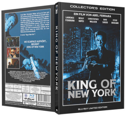 King of New York (1990) (Grosse Hartbox, Limited Collector's Edition)