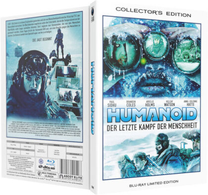 Humanoid - Der letzte Kampf der Menschheit (2016) (Grosse Hartbox, Limited Collector's Edition)