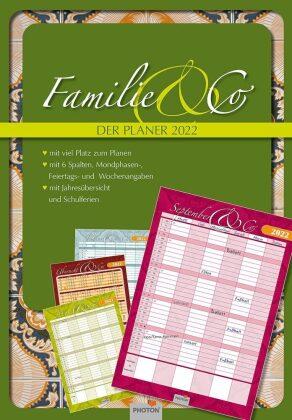 """PLANER """"FAMILIE & CO."""" Kalender 2022"""