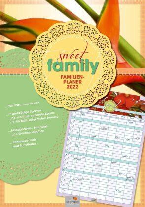 """PLANER """"SWEET FAMILY"""" Kalender 2022"""