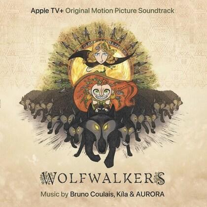 Bruno Coulais & Kila & Aurora - Wolfwalkers - OST (Orange Vinyl, LP)