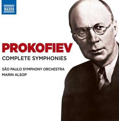Sao Paulo Symphony, Serge Prokofieff (1891-1953) & Martin Alsop - Complete Symphonies (6 CDs)