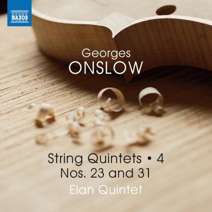 Elan Quintet & Georges Onslow (1784-1853) - String Quintets 4 - Nos 23 & 31