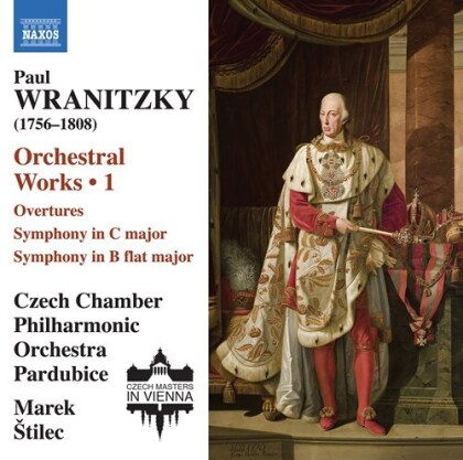 Paul Wranitzky, Marek Stilec & Czech Chamber Philharmonic Orchestra Pardubice - Orchestral Works 1