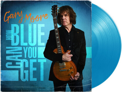 Gary Moore - How Blue Can You Get - Collection Of Previously Unreleased Material (Light Blue Vinyl, LP)