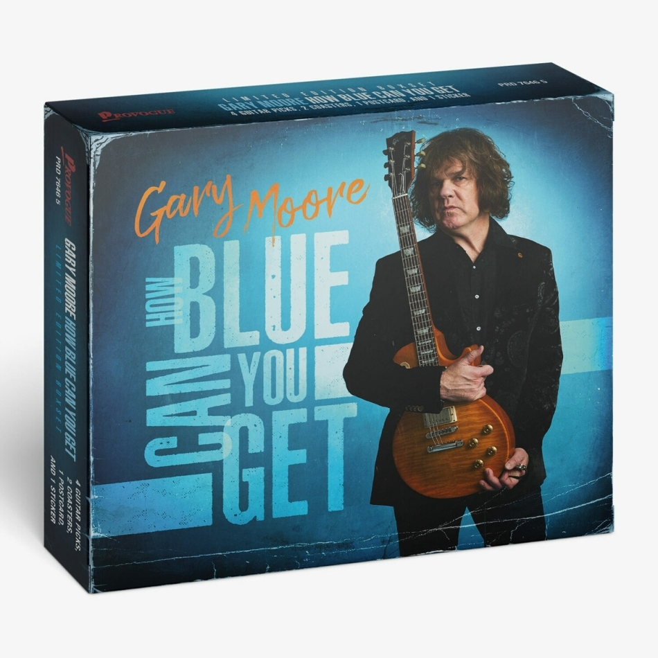 Gary Moore - How Blue Can You Get - Collection Of Previously Unreleased Material (Deluxe Edition)