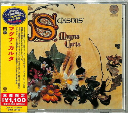 Magna Carta - Seasons (2021 Reissue, Japan Edition)