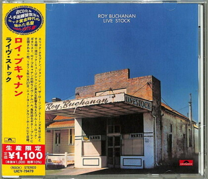 Roy Buchanan - Live Stock (Japan Edition)