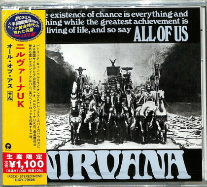 Nirvana (60's) - All Of Us - + Bonus (Japan Edition)