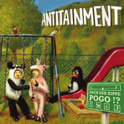 Antitainment - Nach Der Kippe Pogo!? (Limited, 2021 Reissue, Gold Vinyl, LP)