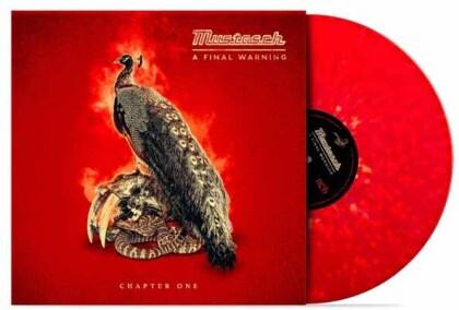 """Mustasch - A Final Warning - Chapter One (Red/Yellow Splatter Vinyl, 10"""" Maxi)"""