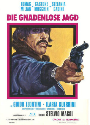 Die gnadenlose Jagd (1974) (Cover A, Eurocult Collection, Limited Edition, Mediabook, Uncut, Blu-ray + DVD)