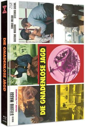 Die gnadenlose Jagd (1974) (Cover C, Eurocult Collection, Limited Edition, Mediabook, Uncut, Blu-ray + DVD)