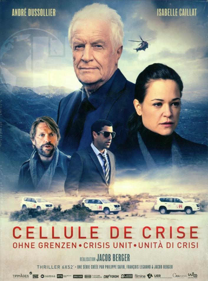 Cellule de Crise - Ohne Grenzen - Mini-Serie (RTS, SRF, Digibook, 3 DVDs)