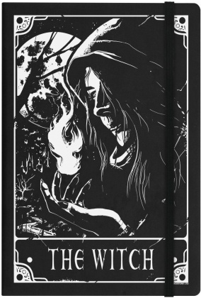 Deadly Tarot: The Witch - A5 Hard Cover Notebook