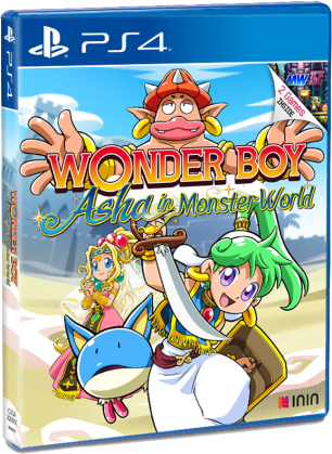 Wonder Boy - Asha in Monster World