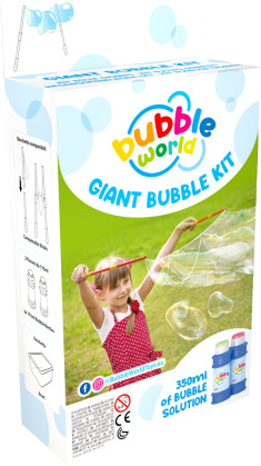 Seifenblasen Giant Bubble Kit