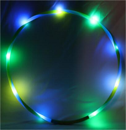 Fantasy Fun-Hoop LED, 60 cm - 3-Fach Assortiert