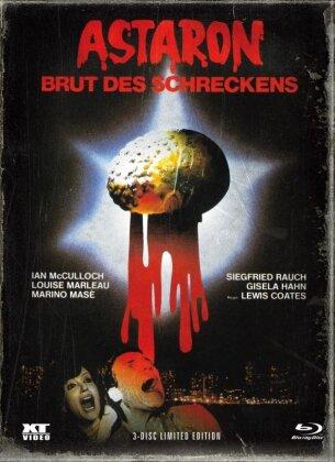 Astaron - Brut des Schreckens (1980) (Cover B, Limited Edition, Mediabook, Blu-ray + DVD)
