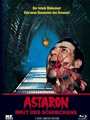 Astaron - Brut des Schreckens (1980) (Cover C, Limited Edition, Mediabook, Blu-ray + DVD)