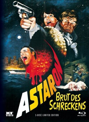 Astaron - Brut des Schreckens (1980) (Cover A, Limited Edition, Mediabook, Blu-ray + DVD)