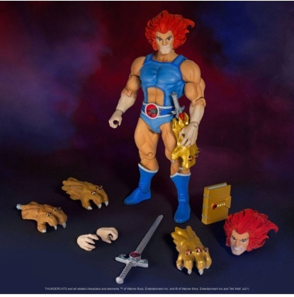 Thundercats Ultimates! Figure - Lion-O (Reissue)