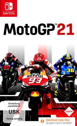 Moto GP 21 (Code in a Box) (German Edition)