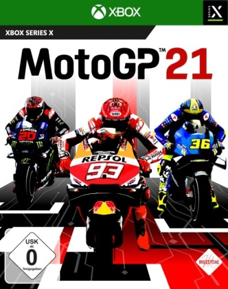 Moto GP 21 (German Edition)