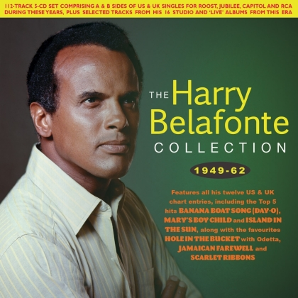 Harry Belafonte - Collection 1949-62 (5 CDs)