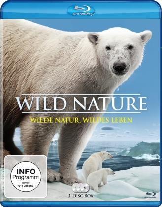 Wild Nature - Wilde Natur, wildes Leben (3 Blu-rays)