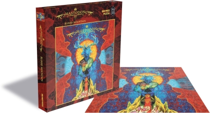 Mastodon - Blood Mountain (500 Piece Jigsaw Puzzle)