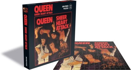 Queen - Sheer Heart Attack (500 Piece Jigsaw Puzzle)
