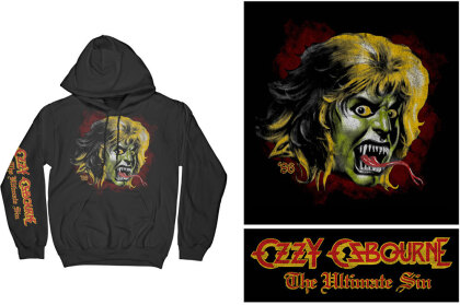 Ozzy Osbourne Unisex Pullover Hoodie - Ozzy Demon
