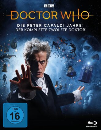 Doctor Who - Die Peter Capaldi Jahre - Der komplette 12. Doktor (BBC, 19 Blu-rays)