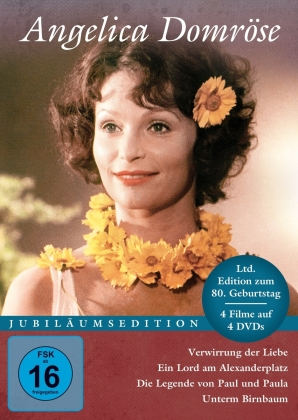 Angelica Domröse (Jubiläumsedition, Limited Edition, 4 DVDs)