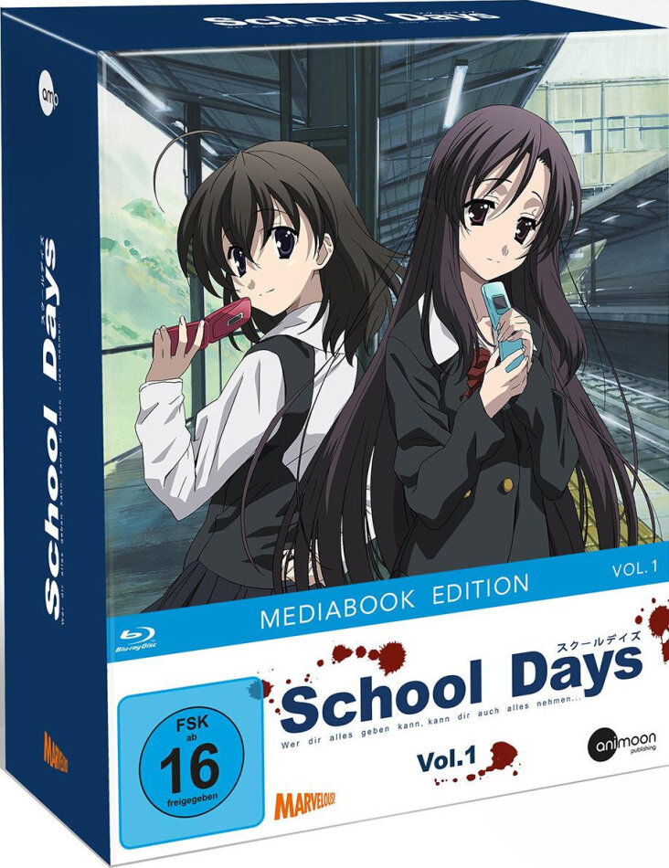 School Days - Vol. 1 (+ Sammelschuber, Limited Edition, Mediabook)