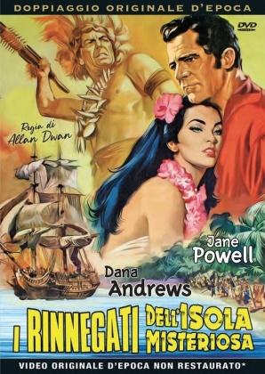 I rinnegati dell'isola misteriosa (1958) (Rare Movies Collection, Doppiaggio Originale D'epoca)