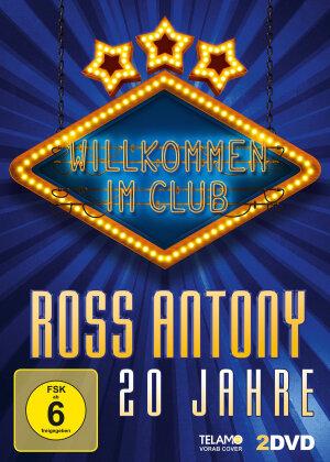 Ross Antony - Willkommen im Club-20 Jahre (2 DVDs)