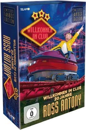 Ross Antony - Willkommen im Club - 20 Jahre (Limitierte Fanbox, CD + DVD)